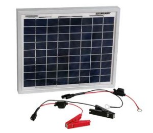 10W Solar Battery Charger