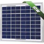 10W Poly Solar Panel 12V