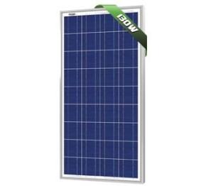 130W Poly Solar Panel 12V