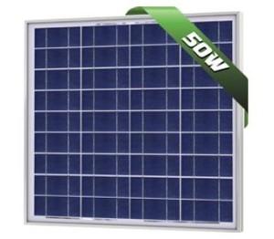 50W Poly Solar Panel 12V